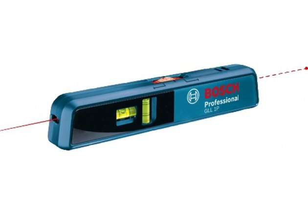 Point and line laser level.
