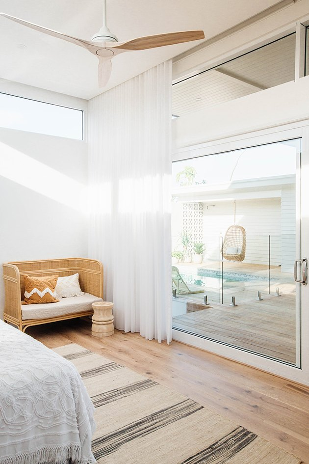 modern home interior design in bedroom