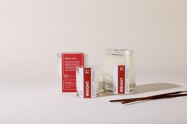 Yield Frank Lloyd Wright Candle, $38