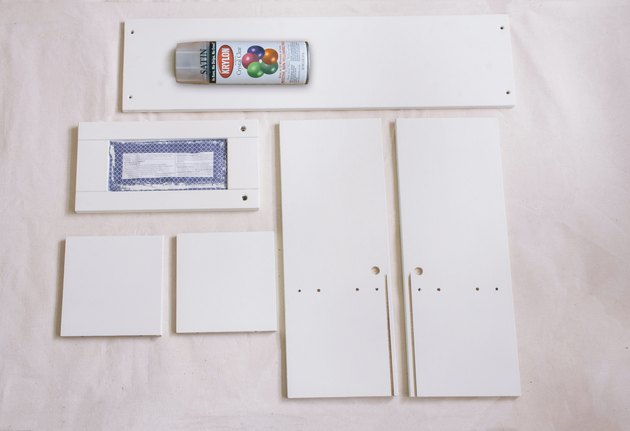 Sceller les armoires peintes