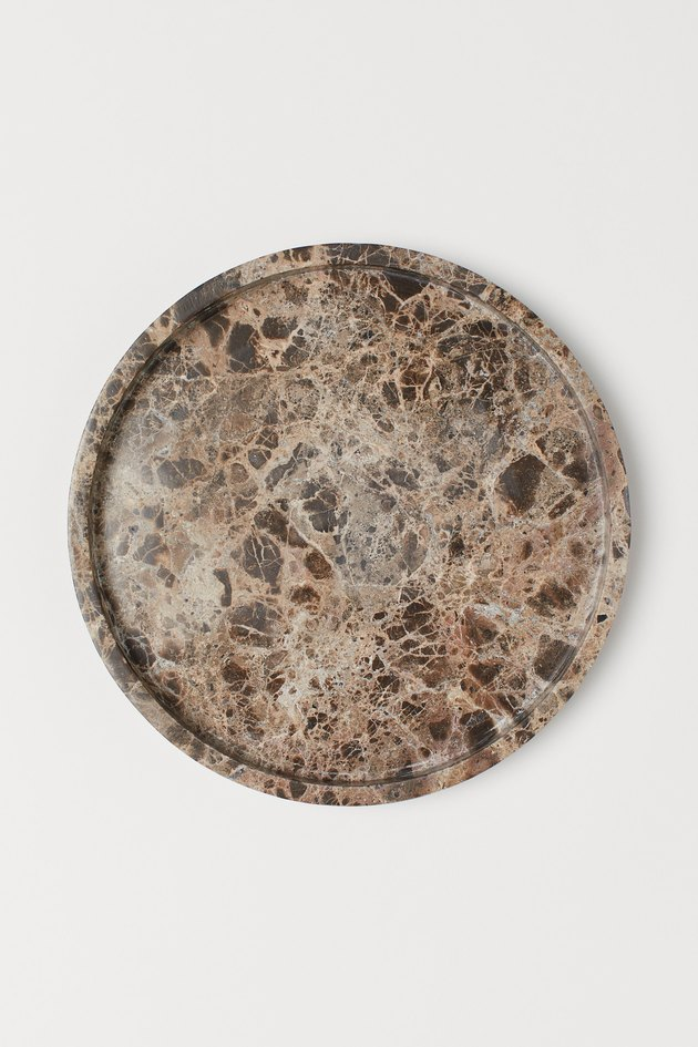 H&M Round Marble Tray