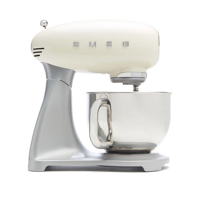 white Smeg stand mixer