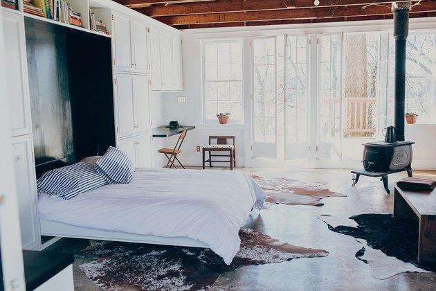 murphy bed in studio