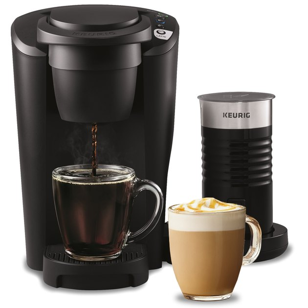 Keurig coffee maker and milk frother