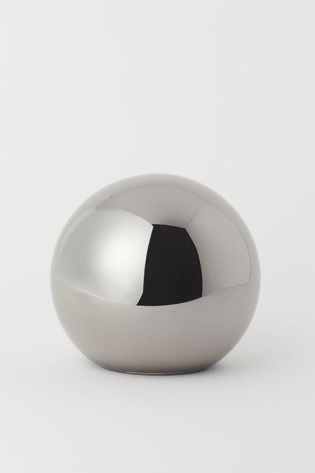 H&M Small Glass Decorative Dome
