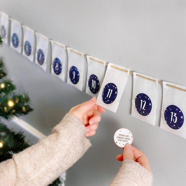 advent calendar for the holidays