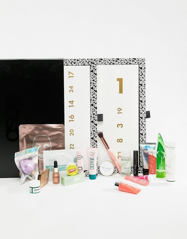 ASOS skin care advent calendar for the holidays