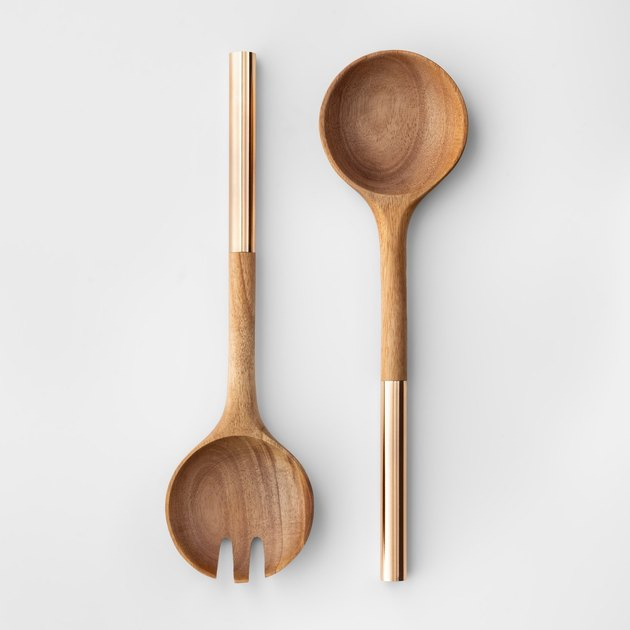 Cravings by Chrissy Teigen Acacia Wood Serving Set, $9.99