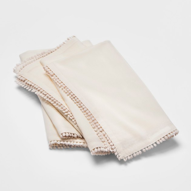 Opalhouse White Napkin (set of four), $9.99