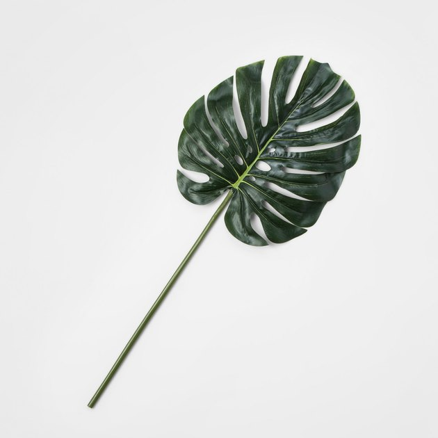 Threshold Faux Stem Split Leaf Philodendron, $4.99