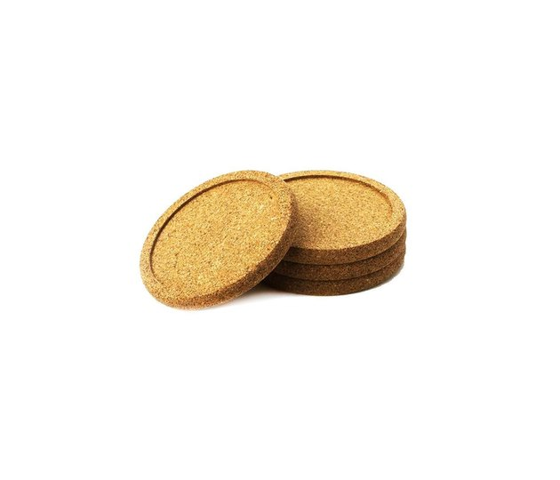 Natural Home Cork Coasters (set of four), $3.99