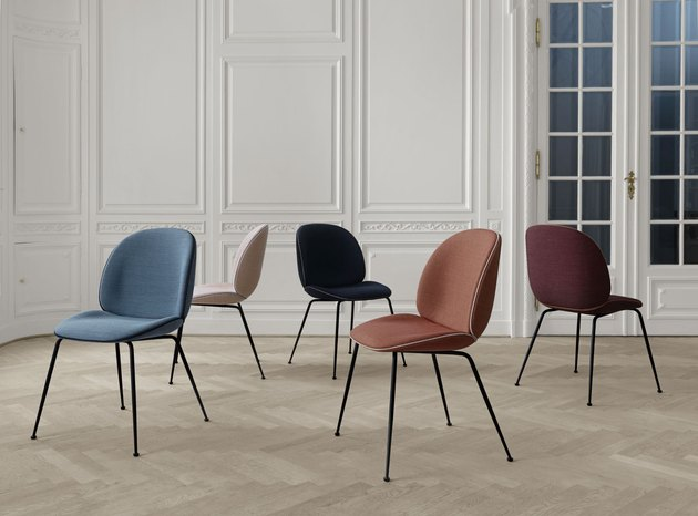 gubi beetle chairs