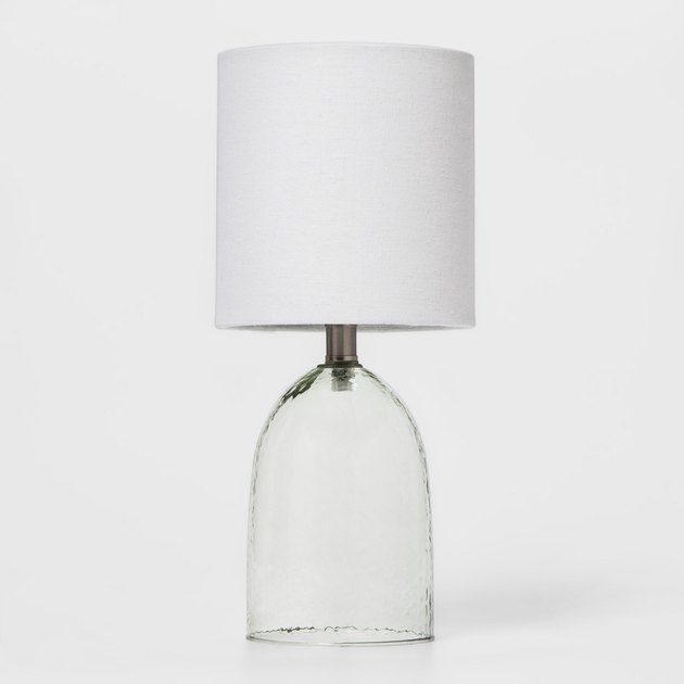 Threshold Recycled Glass Table Lamp (Lamp Only), $9.99