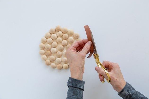 Dessous de plat en bois moderne DIY
