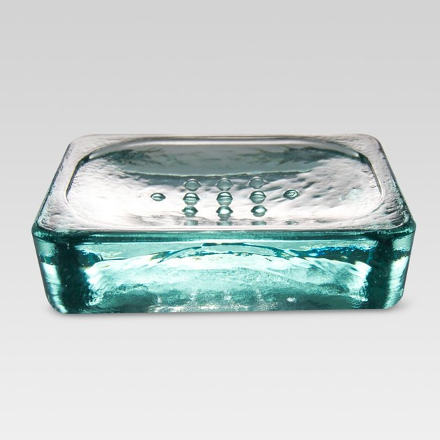 Threshold Recycled Glass Soap Dish, $7.99