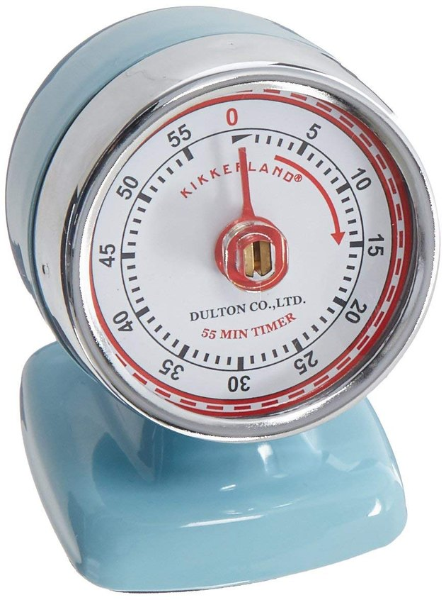 Kikkerland Vintage Streamline Kitchen Timer, $18.99