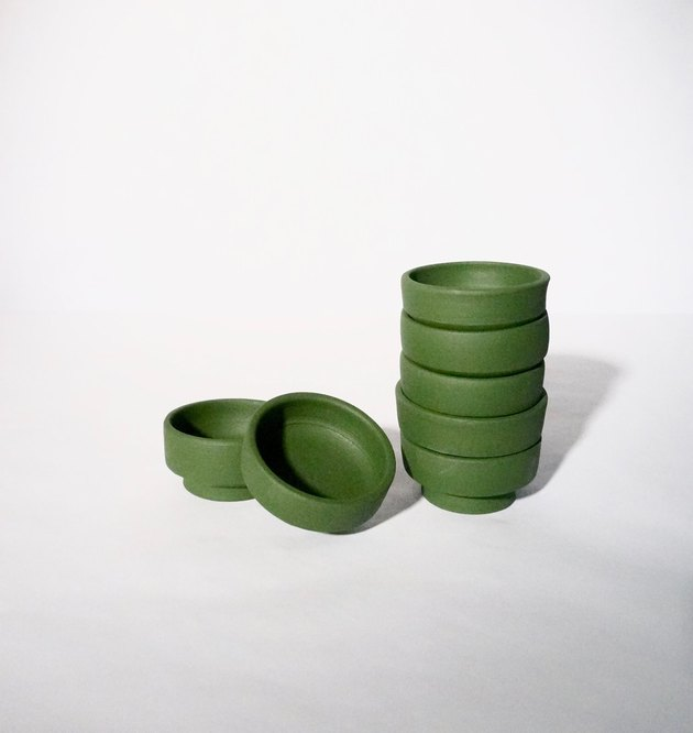 workaday green bowls