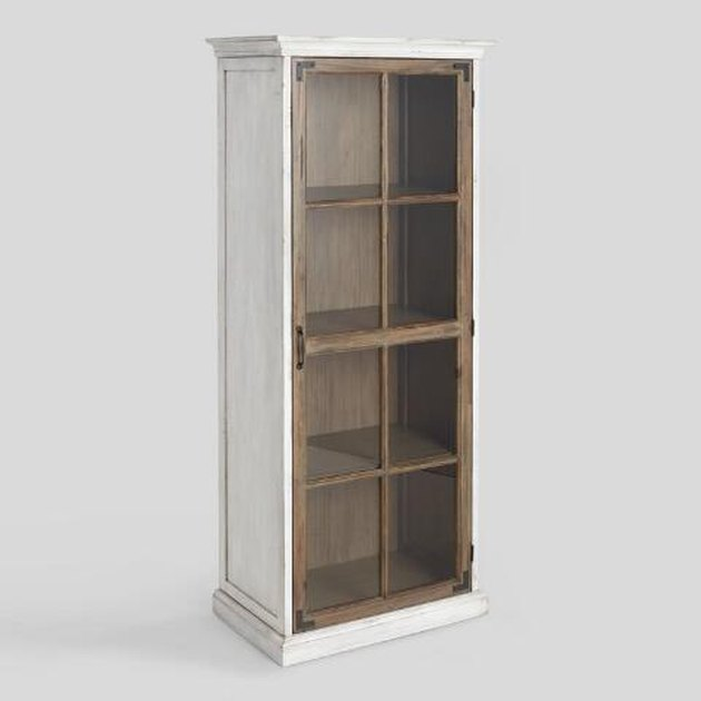 farmhouse style storage cabinet