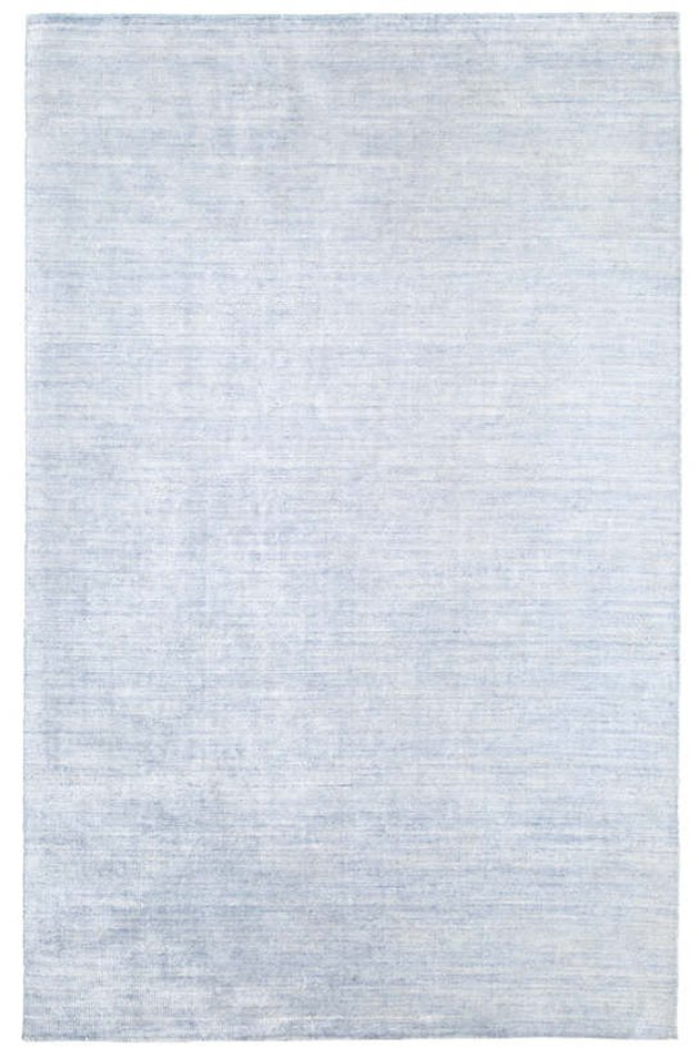 Powder blue area rug