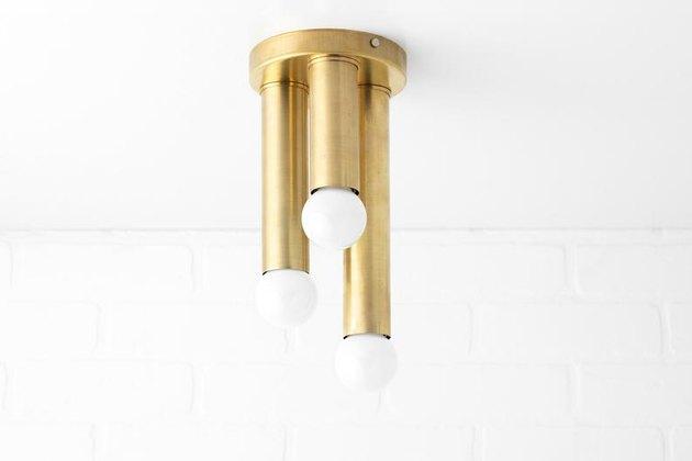 ModCreation Studio Brass Light Fixture