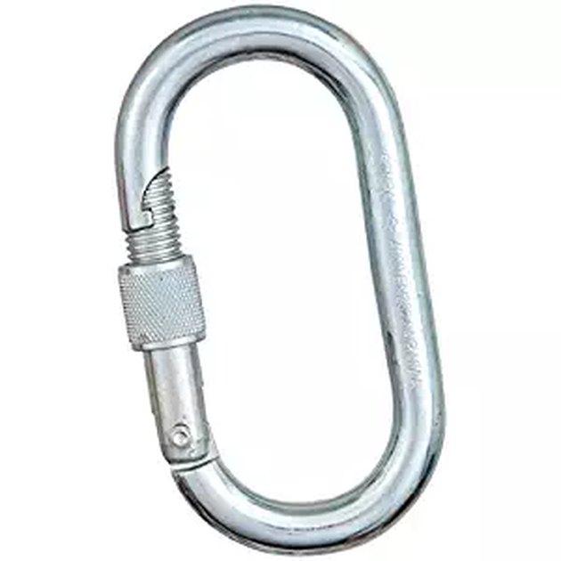 locking steel carabiner