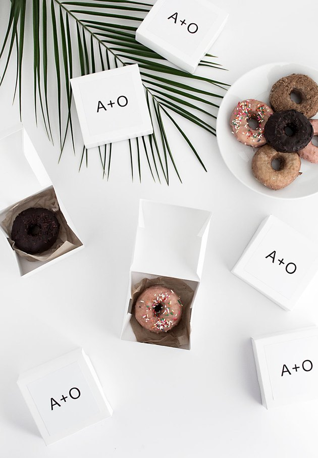 DIY Take Home Dessert Boxes