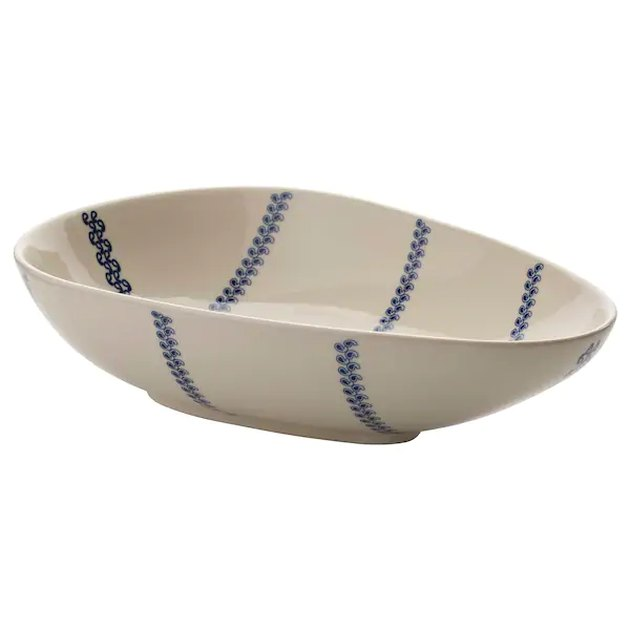 bowl with stripes