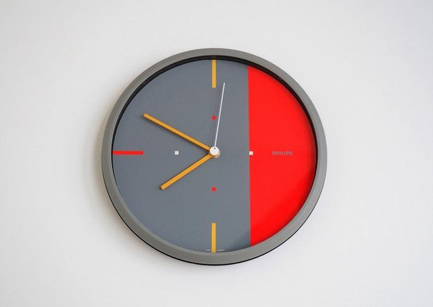 Phillips 1980s Wall Clock, $137.38