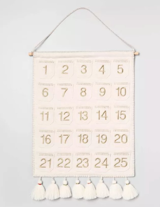 wall banner advent calendar