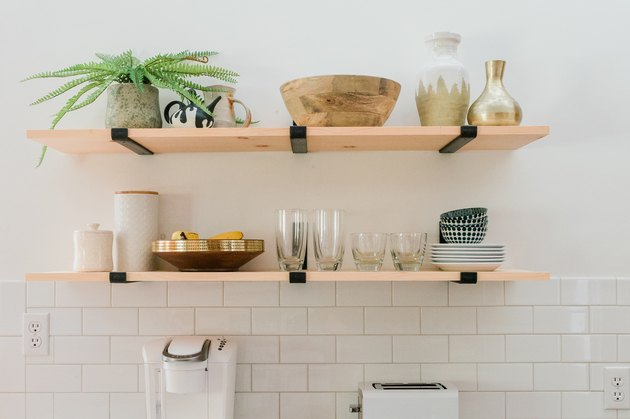 Learn how to style open shelves with confidence.