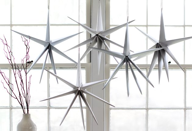 DIY Christmas paper star