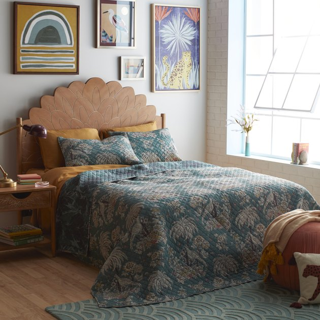 tropical quilt set