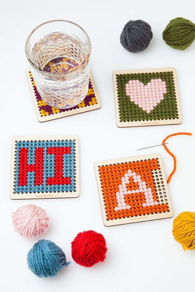 DIY cross-stitch kit