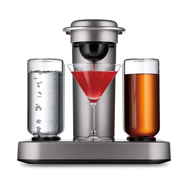 silver cocktail and margarita machine