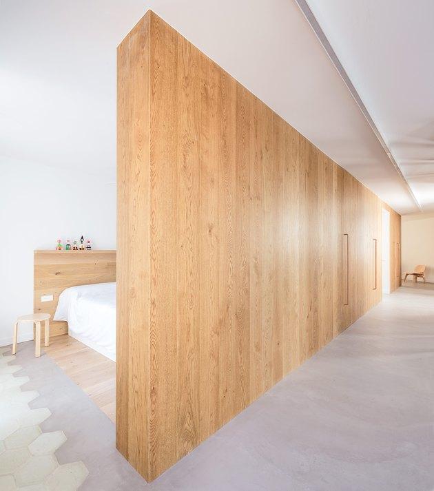 open bedroom