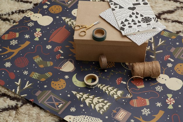 society6 wrapping paper