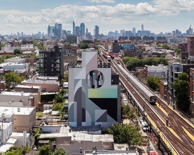 "Mural by Tony ""Rubin"" Sjöman in Brooklyn, New York"