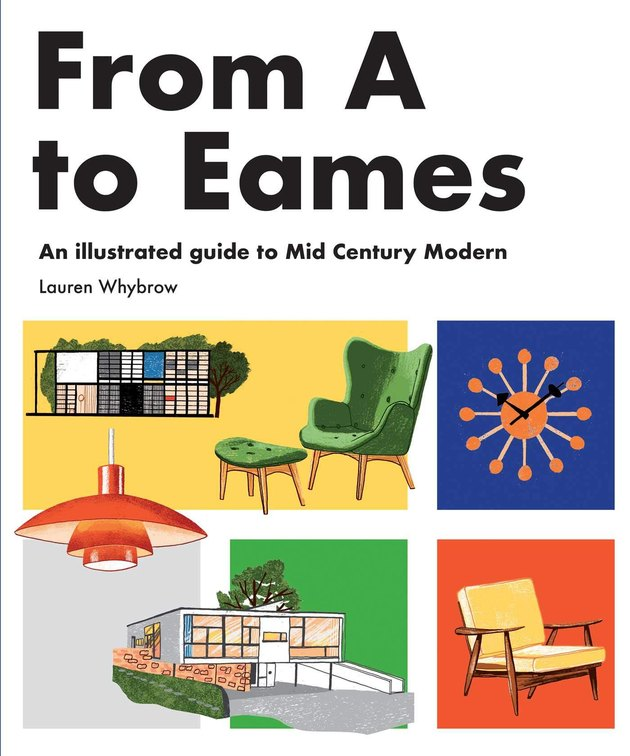 book with title from A to Eames