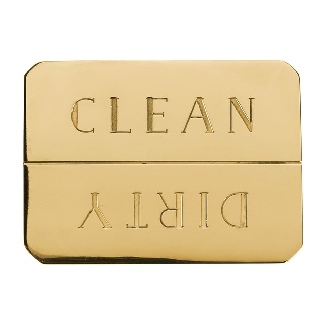 Brass Dishwasher Magnet