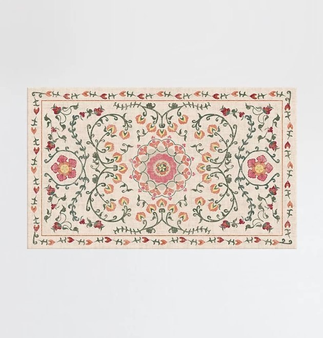 ruggable suzani coral rug