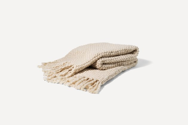 burrow essential throw blanket
