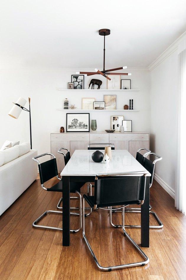 Dining Room shelves in modern space by Eat/Sleep/Wear