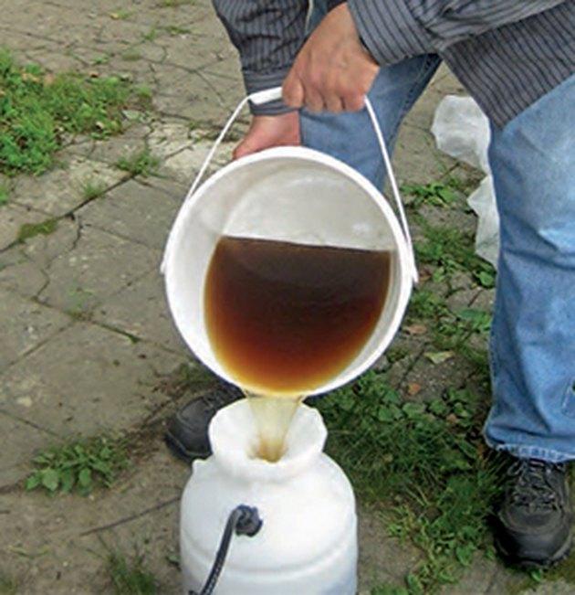 Compost tea.