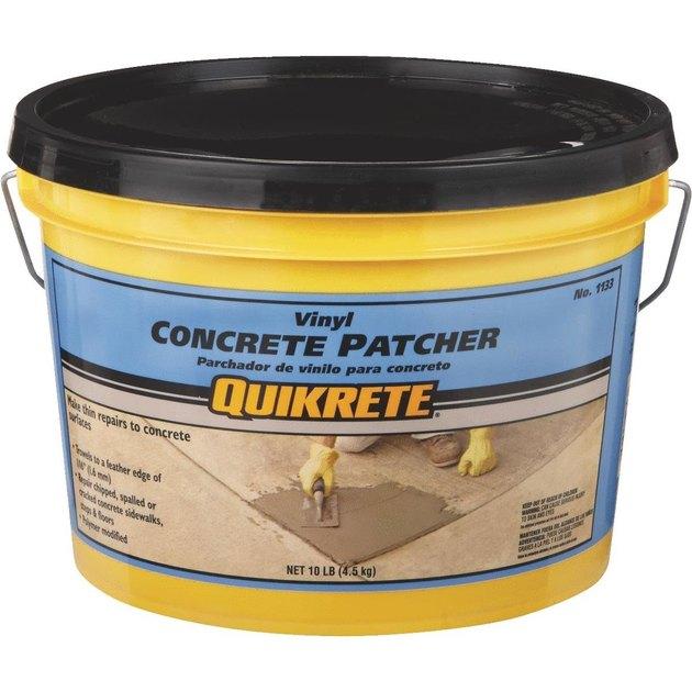 Quikrete concrete patcher