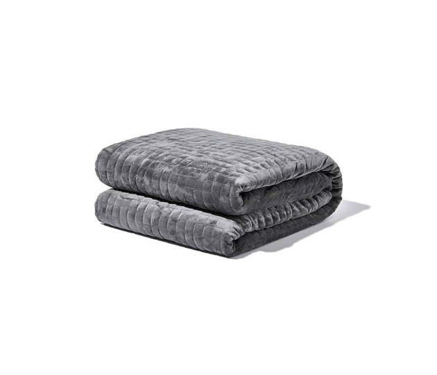 gray weighted blanket