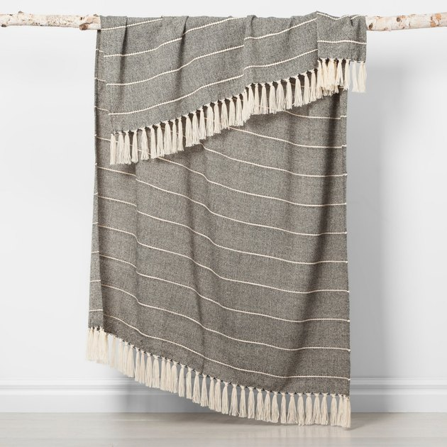 Opalhouse Woven Stripe Throw Blanket, $19.99