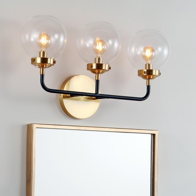 Jonathan Y Brass Wall Sconce, $139.99