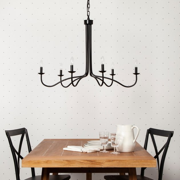 Hearth & Hand Black Metal Chandelier, $99.99