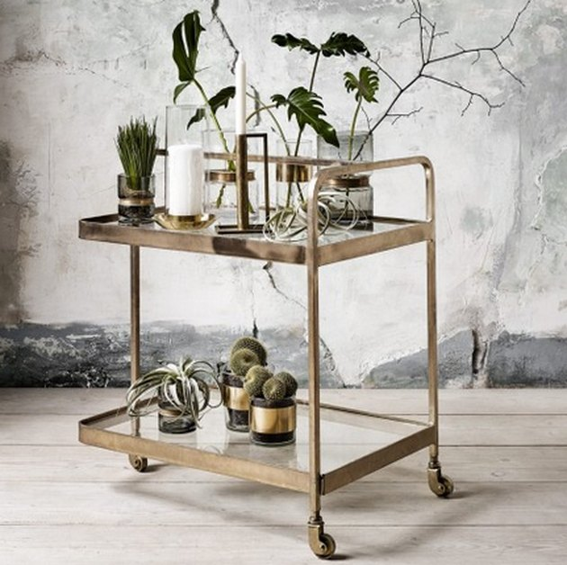Country Style bar cart