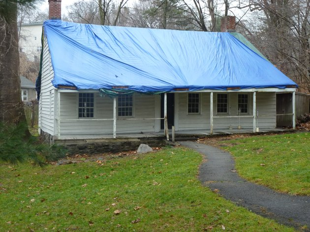 How To Cover Your Roof After Storm Damage Hunker
